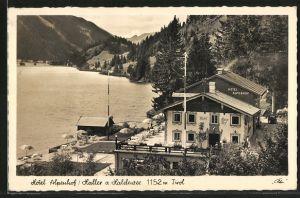 AK Haller am Haldensee, Ansicht vom Hotel