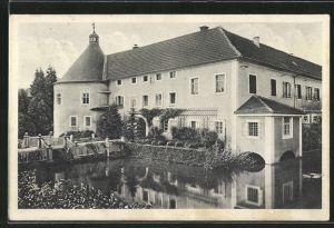 AK Gallspach, Blick auf das Schloss