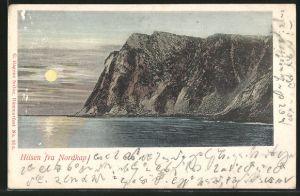 AK Nordkap, Blick auf das Kap