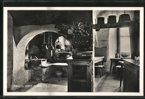 AK Sargans, Küche im Schloss