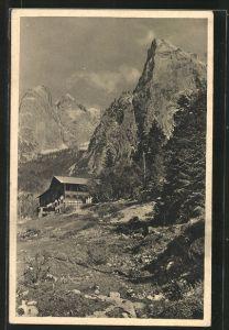 AK Hinterbärenbad, Teilansicht mit Kufstein