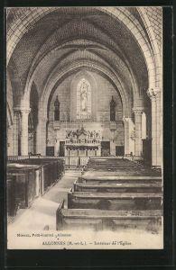 AK Allonnes, Intérieur de l'Église
