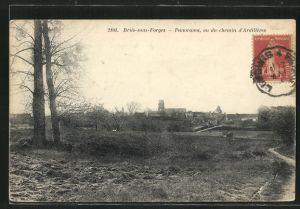 AK Briis-sous-Forges, Panorama, vu du chemin d'Ardilleres