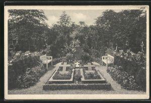 AK Bethel, Friedhof, Ruhestätte der Familie von Bodelschwingh