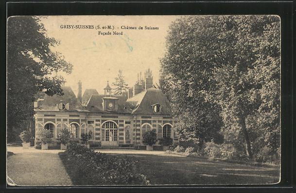 AK Grisy-Suisnes, Chateau de Suisnes, Facade Nord