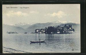 AK Isola Borromee, Panorama, Boot