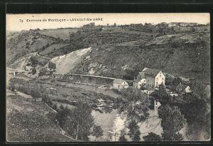AK Lavault-Sainte-Anne, le moulin vu d'en haut