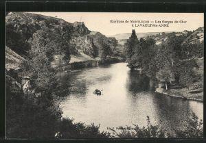 AK Lavault-Sainte-Anne, Les Gorges du Cher, un périssoire
