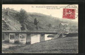 AK Lavault-Sainte-Anne, Pont sur le Cher
