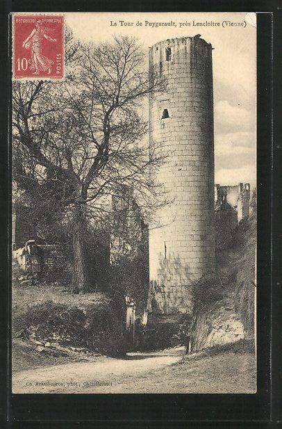 AK Lencloître, la Tour de Puygarault