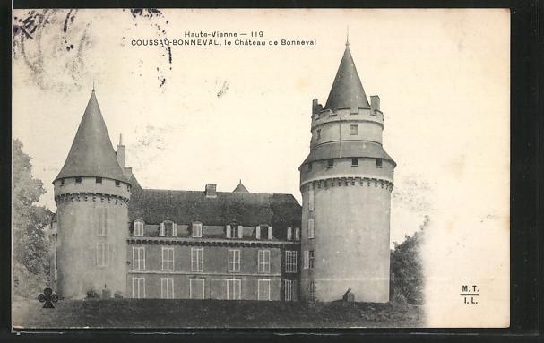 AK Coussac-Bonneval, le Chateau de Bonneval