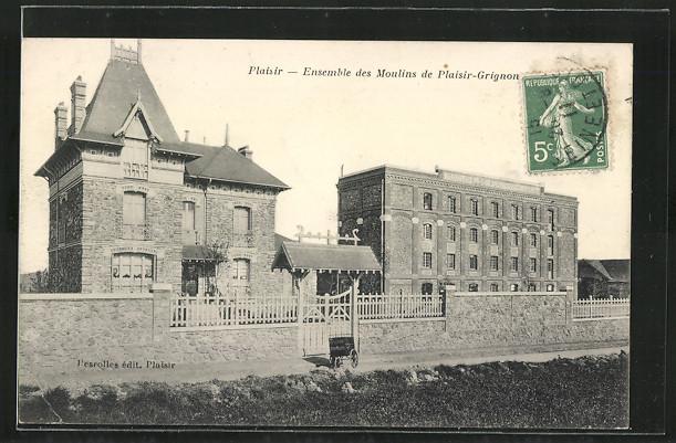 AK Plaisir, Ensemble des Moulins de Plaisir-Grignon