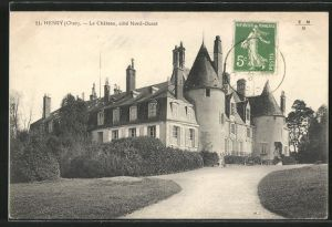 AK Herry, Le Chateau, cote Nord-Ouest