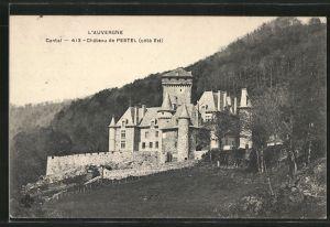 AK Polminhac, Château de Pestel