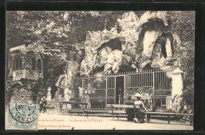 AK Saint-Étienne, la Grotte de Cotatay