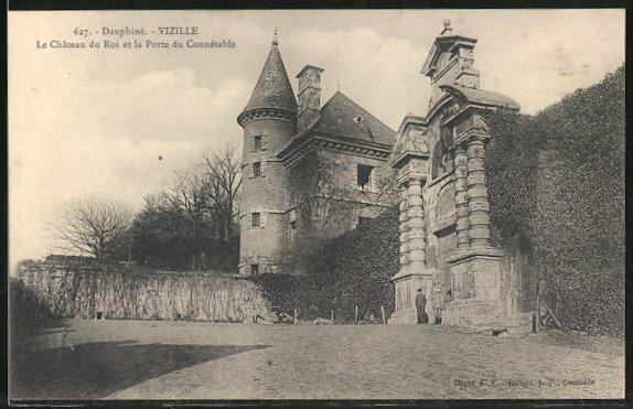 AK Vizille, le Château du Roi et la Porte du Connétable