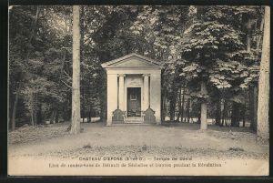 AK Epone, Le Château d'Epone, Temple de David