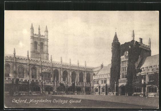 AK Oxford, Magdalen College Quad