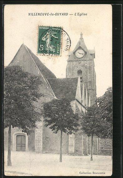 AK Villeneuve-la-Guyard, L'Eglise