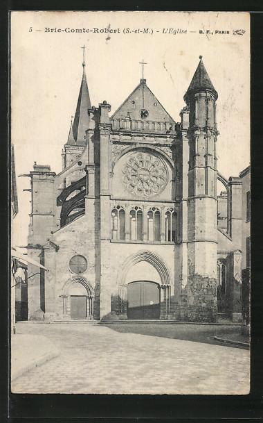 AK Brie-Comte-Robert, L'Eglise