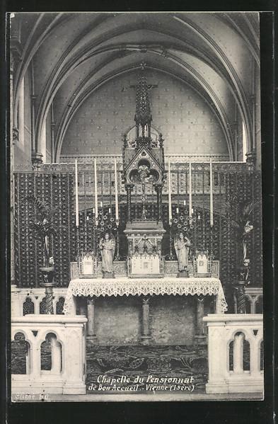AK Vienne, Chapelle du Pensionnat de Bon Accueil