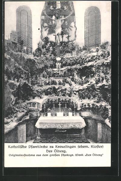AK Kreuzlingen, Altar in Katholische Pfarrkirche