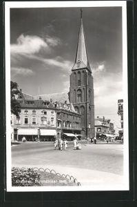 AK Arnhem, Steenstraat met St. Martinuskerk