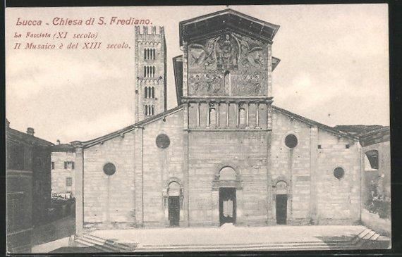 AK Lucca, Chiesa di S. Frediano, La Facciata