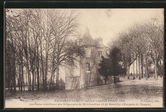 AK Nangis, Ancien Château féodal