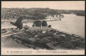 AK Les Bords de la Rance, l'Ecluse de Livet et le Village du Chatelier