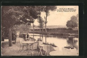AK St-Rémy-l'Honoré, Bords de la Mauldre l'Ecluse, Moulin de Bicherel