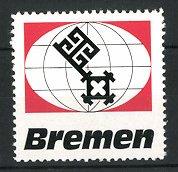 Reklamemarke Wappen-Serie: Wappen der Stadt Bremen
