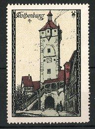 Reklamemarke Serie: Rothenburg, Stadttor