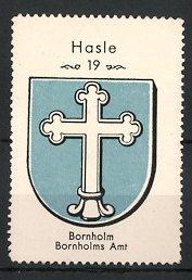 Reklamemarke Wappen-Serie: Wappen der Stadt Bornholm