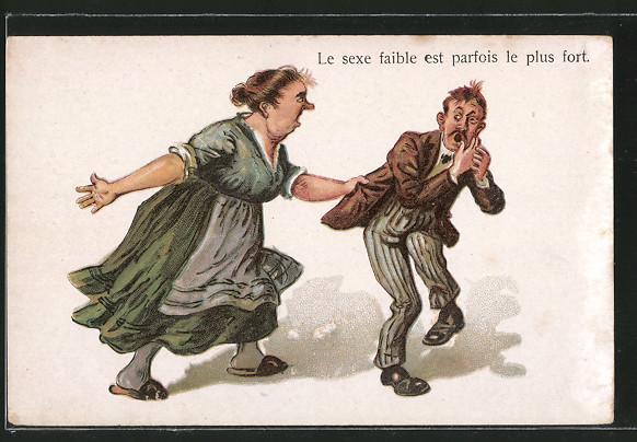 Mann Versohlt Frau
