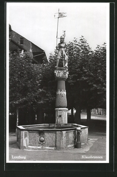 AK Lenzburg, Klausbrunnen