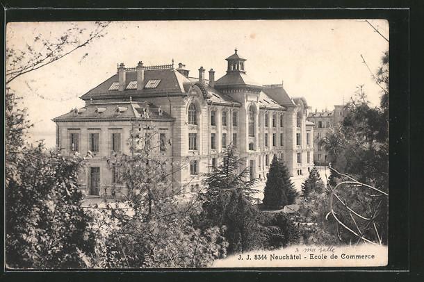 AK Neuchâtel, Ecole de Commerce