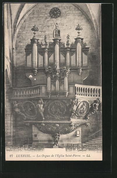 AK Luxeuil, Les Orgues de l'Eglise Saint-Pierre, Orgel