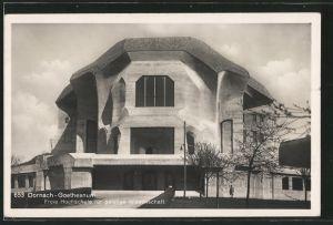 AK Dornach, Goetheanum, Freie Hochschule für geistige Wissenschaft