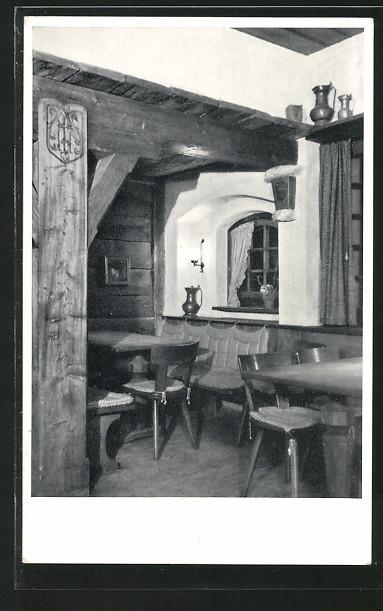 AK Olten, Speiseraum im Restaurant Walliserkanne