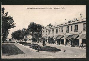 AK La Baule-sur-Mer, L'Avenue Pavie