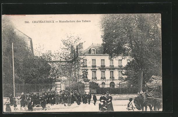 AK Chateauroux, Manufacture des Tabacs