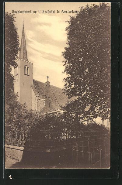 AK Amsterdam, Engelschekerk op t' Begijnhof