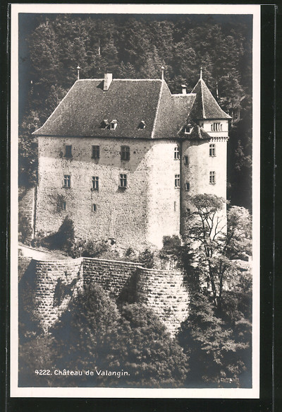 AK Valangin, Château
