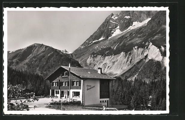 AK La Fouly, Pension-Restaurant Edelweiss, Bes. J. Baumeler