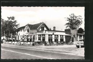 AK Leersum, Cafe-Rest. 't Jachthuis Damlust, mit Terrasse