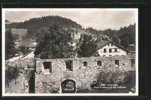 AK Valangin, Mur d'enceinte du chateau