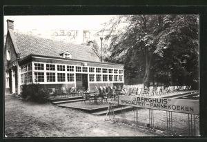 AK Amerongen, Restaurant 't Berghuis mit Terrasse
