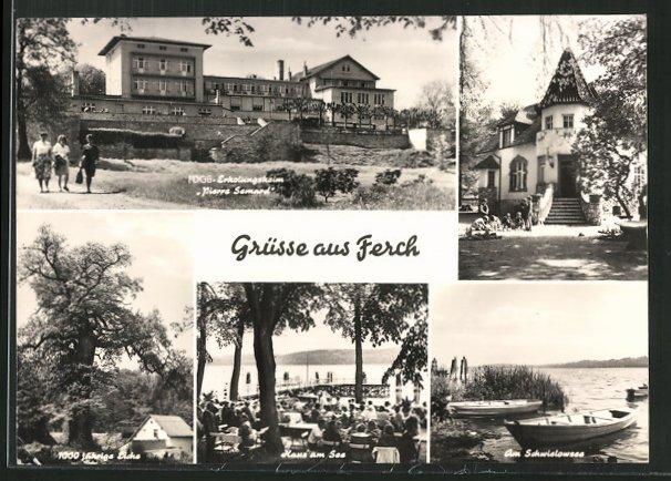 ak ferch fdgb erholungsheim pierre semard haus am see am schwielowsee nr 5164923 oldthing. Black Bedroom Furniture Sets. Home Design Ideas