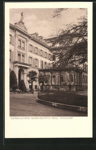 AK Baden, Hotel Verenahof